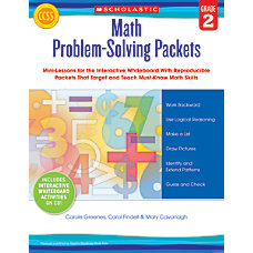 Scholastic Math Problem Solving Packets Grade