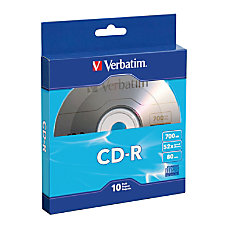 Verbatim CD R Bulk Box Pack