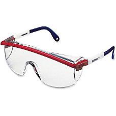 Uvex Astrospec 3000 Safety Eyewear RedWhiteBlue