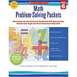 Scholastic Math Problem Solving Packets Grade