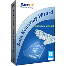 EASEUS Data Recovery Wizard Professional Unlimited