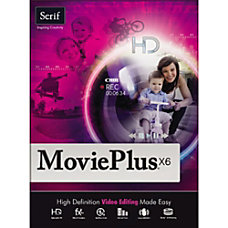 Serif MoviePlus X6 Download Version