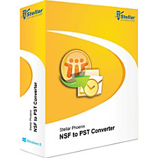 Stellar NSF to PST Converter Download