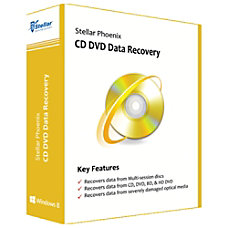 Stellar Phoenix CD DVD Data Recovery