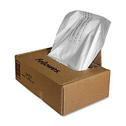 Fellowes Powershred Waste Bags Carton Of