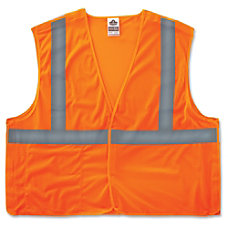 GloWear Orange Econo Breakaway Vest LargeExtra