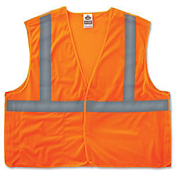 GloWear Orange Econo Breakaway Vest 2