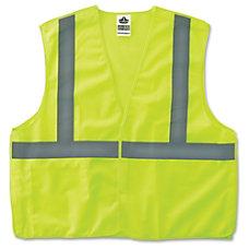 GloWear Lime Econo Breakaway Vest 2