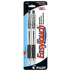 EasyTouch Retractable Ballpoint Pens Medium Point