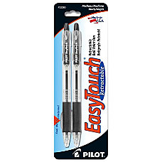 EasyTouch Retractable Ballpoint Pen Medium Point
