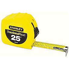 Stanley Tools Tape Measure Standard 25