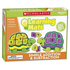 Scholastic Kid Learning Mat ThemeSubject Learning