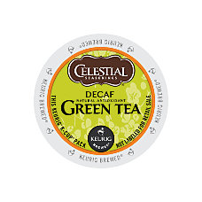Celestial Seasonings Decaffeinated Green Tea K
