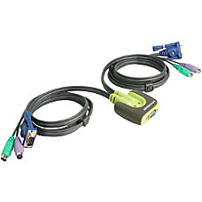 IOGear MiniView Micro KVM Switch With