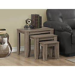 Monarch Specialties 3 Piece Nesting Table