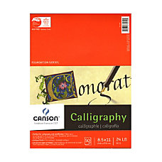Canson Calligraphy Parchment 8 12 x