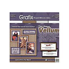 Grafix Translucent Vellum 12 x 12