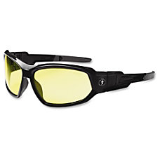 Ergodyne Loki Yellow Lens Safety Glasses