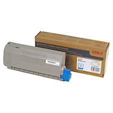 Oki Cyan Toner Cartridge 11500 Pages