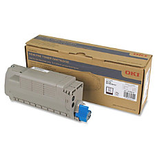 Oki Black Toner Cartridge 15000 Pages