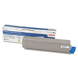 Oki 3580615 Yellow Toner Cartridge