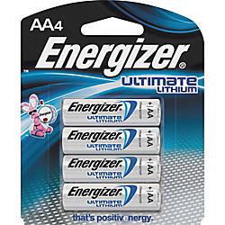 Energizer Ultimate Lithium AA Batteries AA
