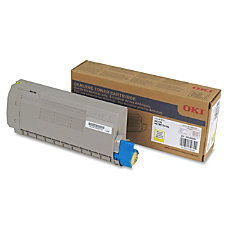 Oki Yellow Toner Cartridge 11500 Pages