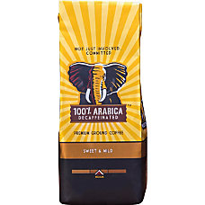 Westrock 100percent Arabica Decaffeinated Ground Coffee