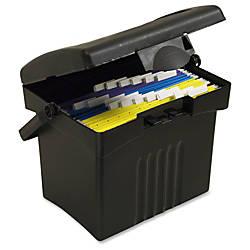 Storex Portable Storage Box External Dimensions