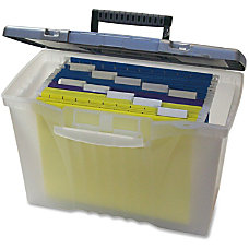 Storex Portable File Box Internal Dimensions