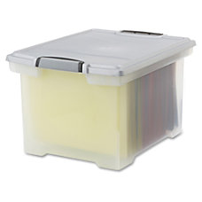 Storex File Tote Internal Dimensions 1450