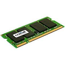 Crucial 2GB DDR2 PC2 5300 200