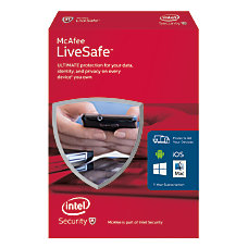 McAfee LiveSafe 2016 For PCMacMobile eCard