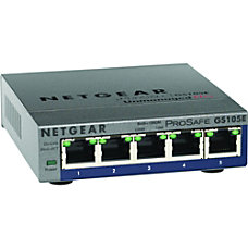 Netgear ProSafe Plus Switch 5 Port