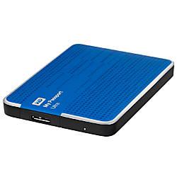 WD My Passport Ultra 1TB External Portable Hard Drive, Blue