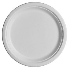 NatureHouse Bagasse Plates 10 Round Pack