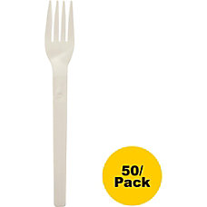 NatureHouse Compostable Cutlery Forks Pack Of