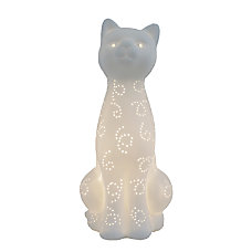 Simple Designs Porcelain Kitty Cat Table