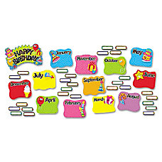TREND Happy Birthday Mini Bulletin Board