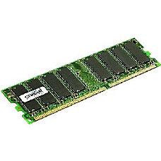Crucial 2GB DDR SDRAM Memory Module