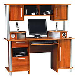Empire Computer Desk With Hutch And USB Hub 60 58 H x 59 58 W x 25