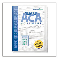 ComplyRight Tax Form Software 2015 ACA