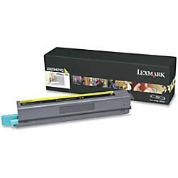 Lexmark X925H2YG High Yield Yellow Toner