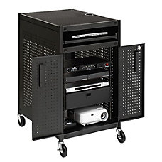 Bretford Rack Mount Technology Cart 2
