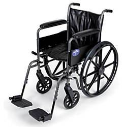 Medline K2 Basic Wheelchair Swing Away