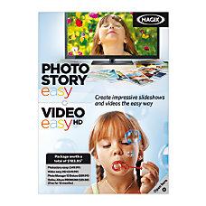 Magix PhotoStory Easy Video Easy HD