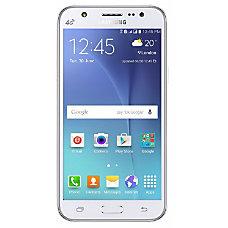 Samsung Galaxy J5 Cell Phone White
