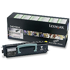 Lexmark 34015HA Return Program High Yield