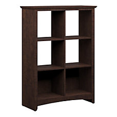 Bush Buena Vista Bookcase 6 Cube