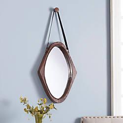 Southern Enterprises Easton Oval Mirror 36